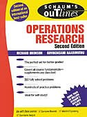 Book Schaum's Outline of Operations Research by Richard Bronson
