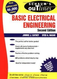 Book Schaum's Outline of Basic Electrical Engineering by J. Cathey
