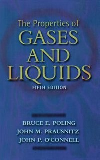 Book The Properties of Gases and Liquids 5E by Bruce Poling