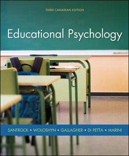 Book Educational Psychology by John Santrock
