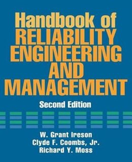 Book Handbook of Reliability Engineering and Management 2/E by W. Ireson