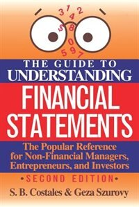 Book The Guide to Understanding Financial Statements by S. Costales