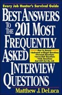 Book Best Answers to the 201 Most Frequently Asked Interview Questions by Matthew J. DeLuca