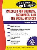 Book Schaum's Outline of Calculus for Business, Economics, and The Social Sciences by Edward Dowling