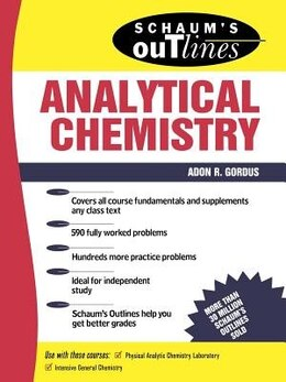 Book Schaum's Outline of Analytical Chemistry by Adon Gordus