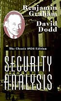 Security Analysis: The Classic 1934 Edition: The Classic 1934 Edition