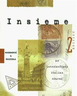 Book Insieme:  An Intermediate Italian Course (Student Edition): An Intermediate Italian Course (Student… by Romana Habekovic