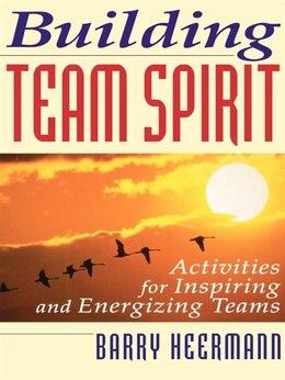 Book Building Team Spirit Pb by Barry Heermann