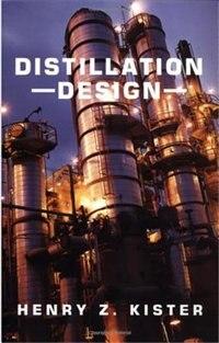 Book Distillation Design by Henry Kister