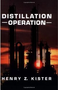 Book Distillation Operation by Henry Kister