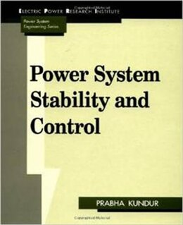Book Power System Stability and Control by Prabha Kundur