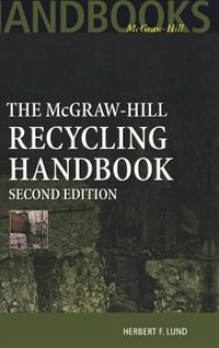 Book McGraw-Hill Recycling Handbook, 2nd Edition by Herbert Lund