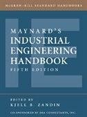 Book Maynard's Industrial Engineering Handbook by Kjell Zandin