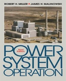 Book Power System Operation by Robert Miller