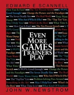 Book Even More Games Trainers Play by Edward Scannell