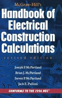 Book McGraw-Hill Handbook of Electrical Construction Calculations, Revised Edition by Brian Mcpartland