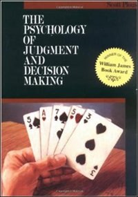 Book The Psychology of Judgment and Decision Making by Scott Plous