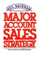 Book Major Account Sales Strategy by Neil Rackham