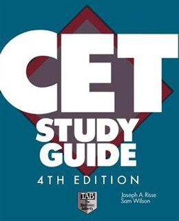 Book CET Study Guide by Joseph Risse