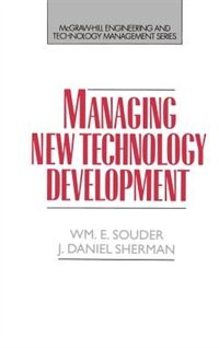 Book Managing New Technology Development by William E. Souder