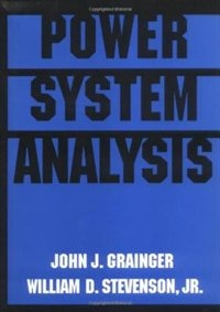 Power System Analysis by John Grainger