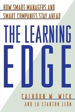 Book Learning Edge Pb by Calhoun W. Wick