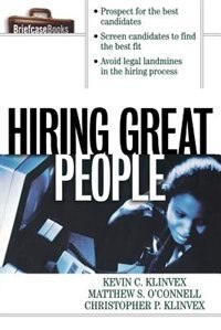 Book Hiring Great People by Kevin Klinvex