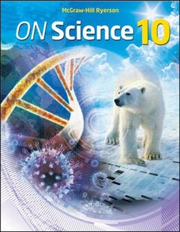 Book ON Science 10 Student Edition by Tom Dickinson