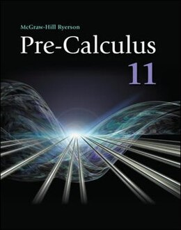 Book Pre-Calculus 11 Student Edition by Bruce McAskill