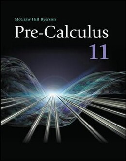 Book Pre-Calculus 11 Student Workbook by Scott Carlson
