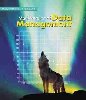 Mathematics of Data Management 12 Student Edition by Barbara Canton
