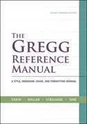 Book The Gregg Reference Manual + CONNECT w/eText by William Sabin