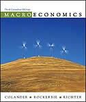 Book Macroeconomics by David Colander