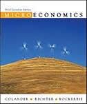 Book Microeconomics by David Colander