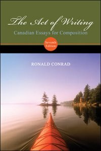 Book Act of Writing by Ronald Conrad