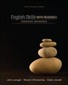 Book English Skills with Readings by John Langan