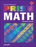 Book Prism Math Purple Student Workbook by Mcgraw-hill Ryerson