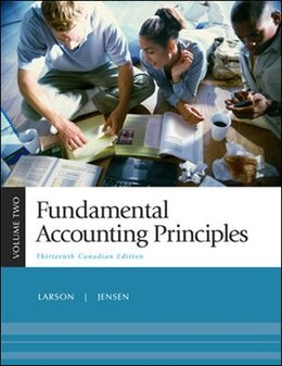 Book Fundamental Accounting Principles, Volume 2, Thirteenth CDN Edition by Kermit Larson