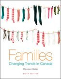 Families: Changing Trends in Canada: Changing Trends in Canada, Sixth Edition