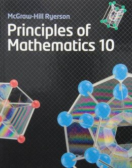 Book Principles of Mathematics 10 by Barbara Canton