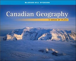 Book Canadian Geography: A Sense of Place: A Sense Of Place by Kim Wallace