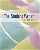 The Student Writer: Editor And Critic: Editor And Critic, Cdn Edition