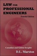 Book Law for Professional Engineers by Donald Marston