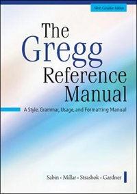 The gregg reference manual book by william a sabin spiral bound the gregg reference manual by william a sabin spiritdancerdesigns Choice Image