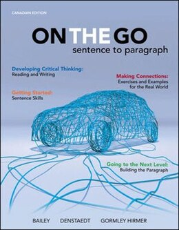 Book On the Go: Sentence to Paragraph by Richard Bailey