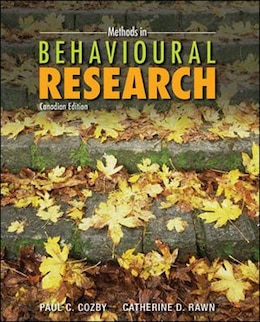 Book Methods in Behavioural Research by Paul Cozby