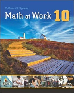 Book Math at Work 10 Exercise and Homework Book by Steve Etienne