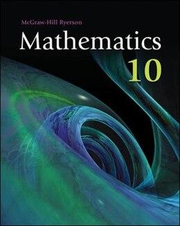 Book Mathematics 10 Adapted Program by Carol Jaap-Klass