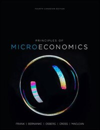 Principles of Microeconomics, 4th Cdn Ed. with Connect Access Card