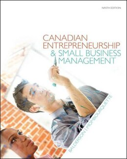 Book Canadian Entrepreneurship & Small Business Management by Wesley Balderson